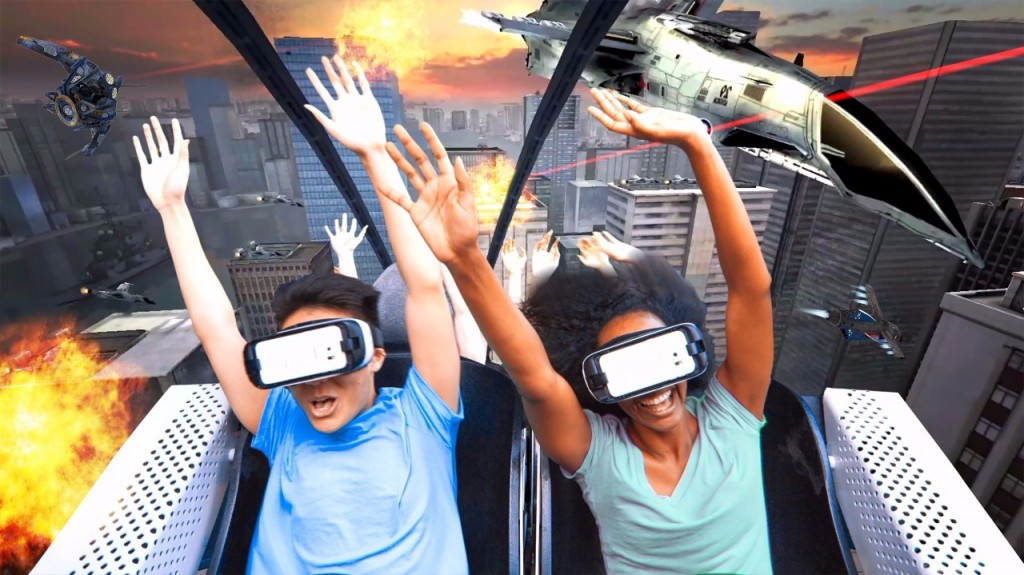 Six Flags Virtual Reality